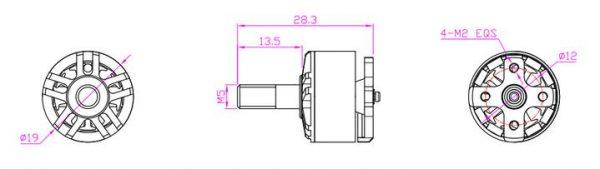 HGLRC Flame Motor 1407 3600KV