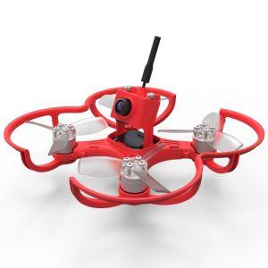Red Emax Babyhawk FPV Drone