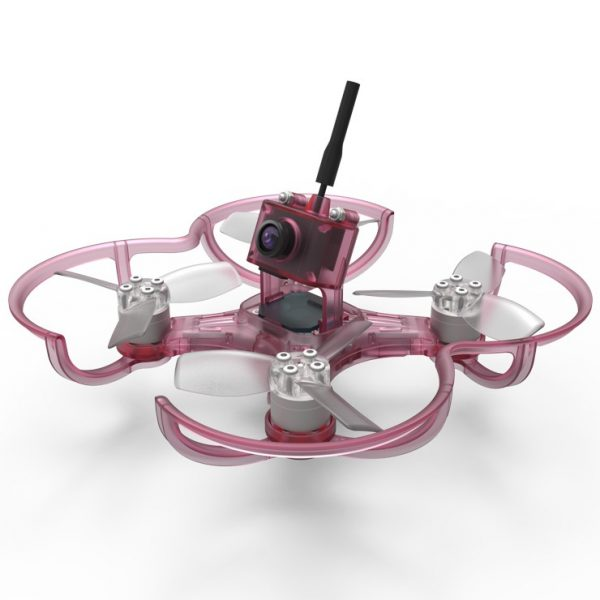 Clear Pink Emax Babyhawk FPV Drone