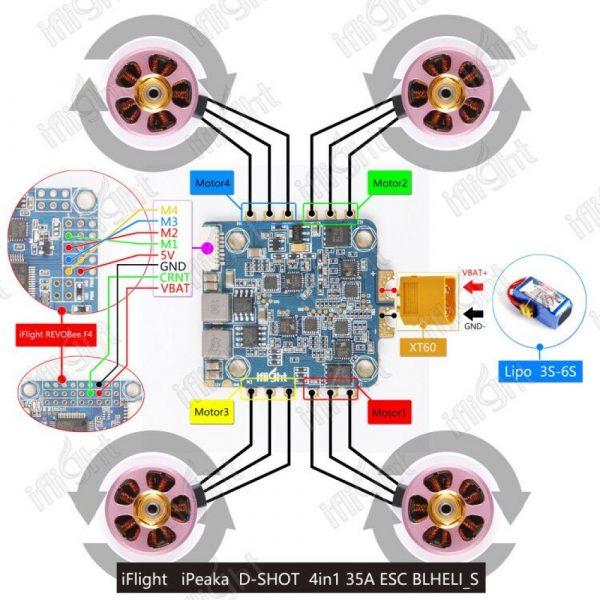iPeaka 35A 4-IN-1 ESC 1