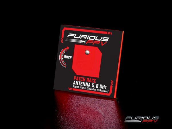 FuriousFPV FeatherPatch Race Antenna 5.8GHz (RHCP)