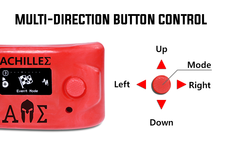 Achilles button control