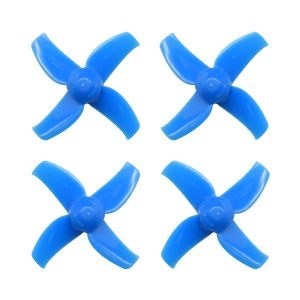 40mm 4-blade Micro Whoop Propellers - Blue