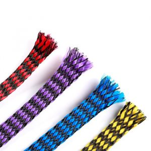 8mm snakeskin mesh wire cable sleeve