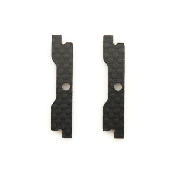 The replacementQAV-SKITZO Dark MatterFPV Freestyle Quadcopter Camera Sidewall made of 3mm thick 3k carbon fiber.