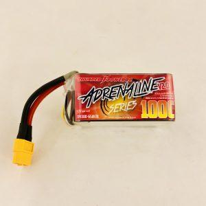 1300mAh 6-Cell/6S 22.2V FPV Adrenaline 100C V2.0