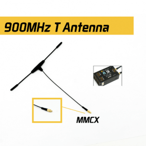 FrSky 900MHz MMCX Dipole T Antenna for R9 Receiver