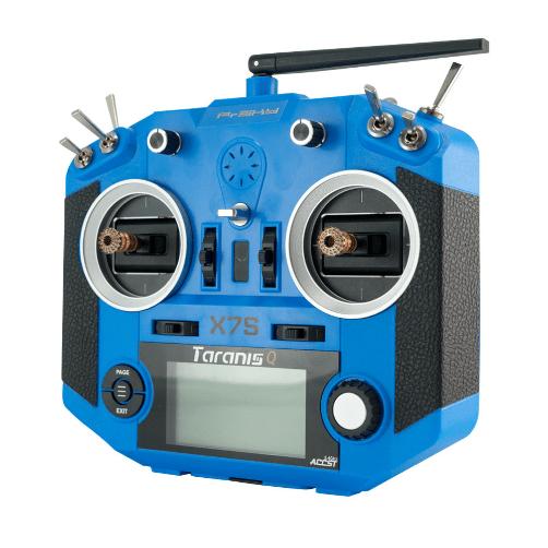 FrSky Taranis Q X7S Radio w/ M7 Hall Sensor Gimbals w/ R9 Module (Blue)