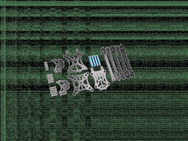 Druckbar Ultralight 4 FPV Frame Parts