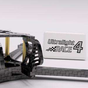 Druckbar Ultralight 4 Race FPV Racing Frame
