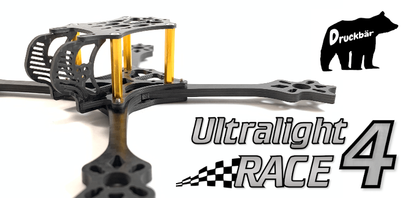 ultralight 4 race fpv frame banner