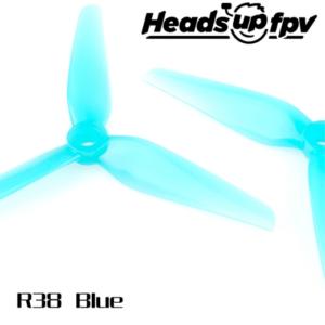 HeadsUp Racing Prop R38 Blue