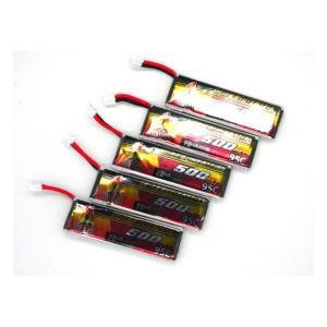 Bosh Speed Demon V2 1s 500mAh 95C FPV LiPo Batteries 5 pack