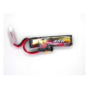 Bosh Speed Demon V2 2s 450mAh 95C FPV LiPo Batteries