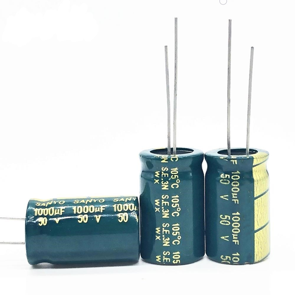 Lot x 5 Electrolytic Capacitors 1000mF 50V Electrolytic Capacitors
