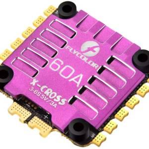 Flycolor X-Cross 60A 3-6S BLHeli32 4-in-1 ESC