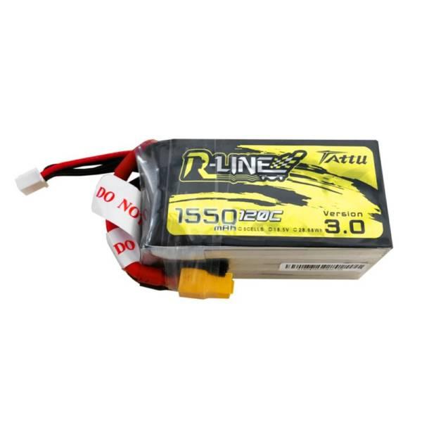 Tattu R-Line Version 3.0 1550mAh 5S 120C Lipo Battery 1