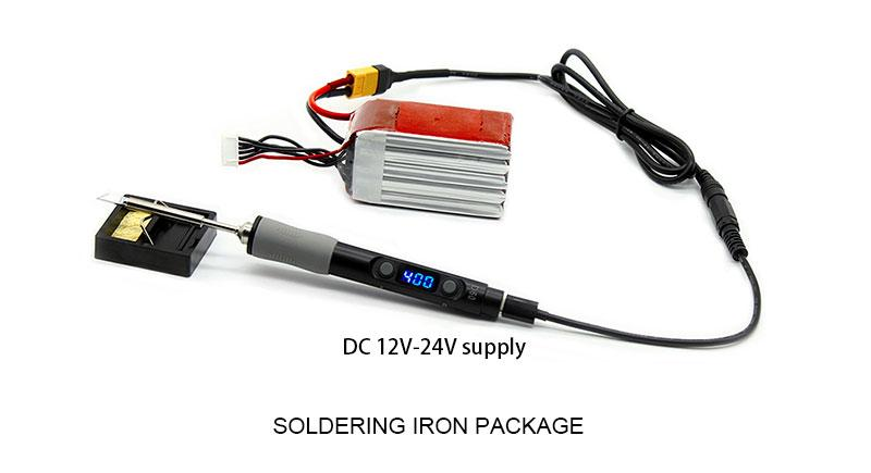 Sequre SQ-D60B Soldering Iron with TS-B2 Tip 10
