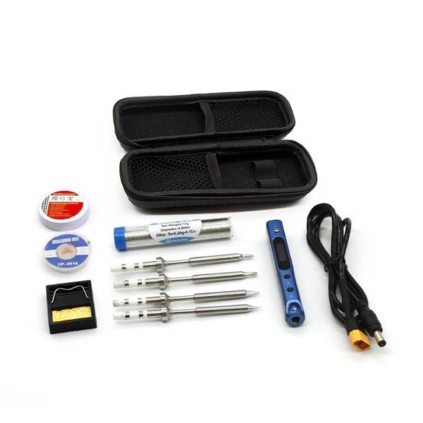 Sequre SQ-001 60w Adjustable Soldering Iron Blue & Storage Bag 1
