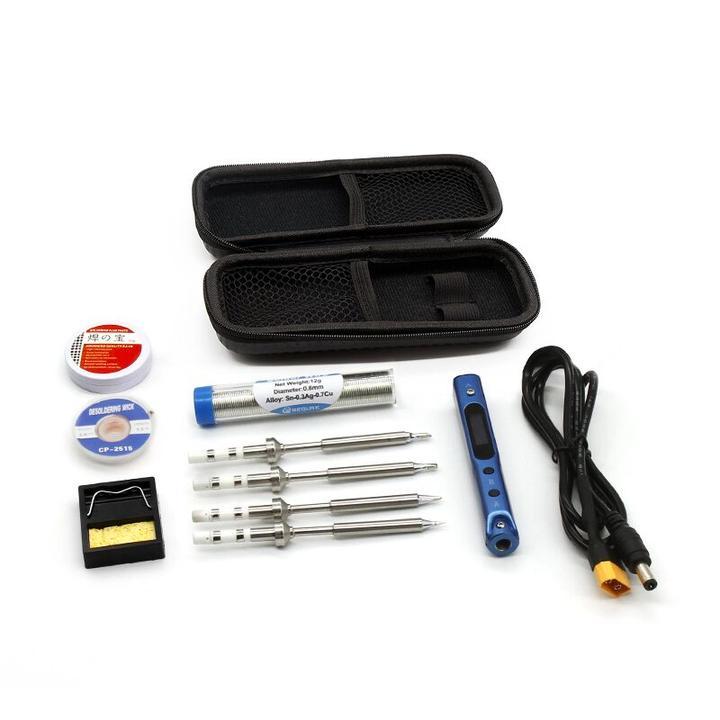 Sequre SQ-001 60w Adjustable Soldering Iron Blue & Storage Bag 3